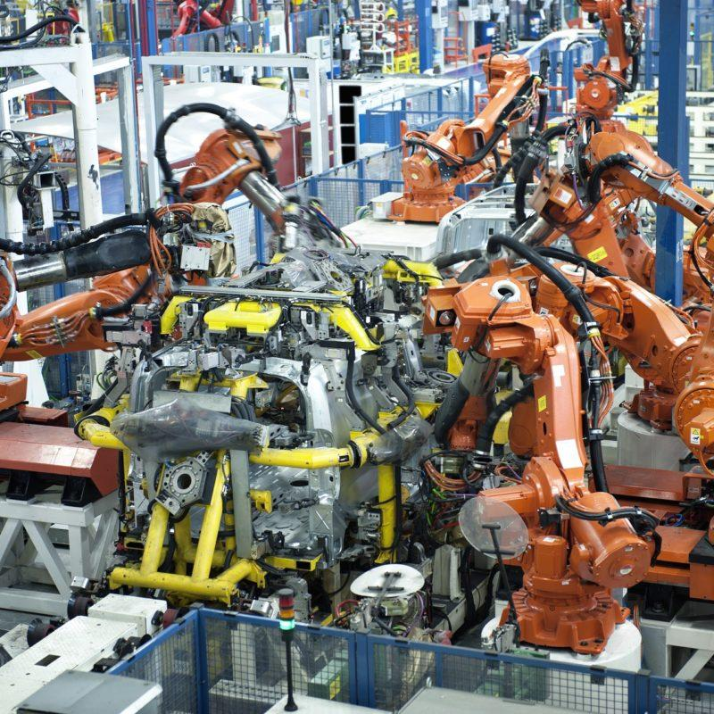 Cross Sector expertise. Car Production Line - BlueThink Technology, Engineering, Industrial, Product, Design and Mechanical Consultants and assisting with Industrial Design Consultants