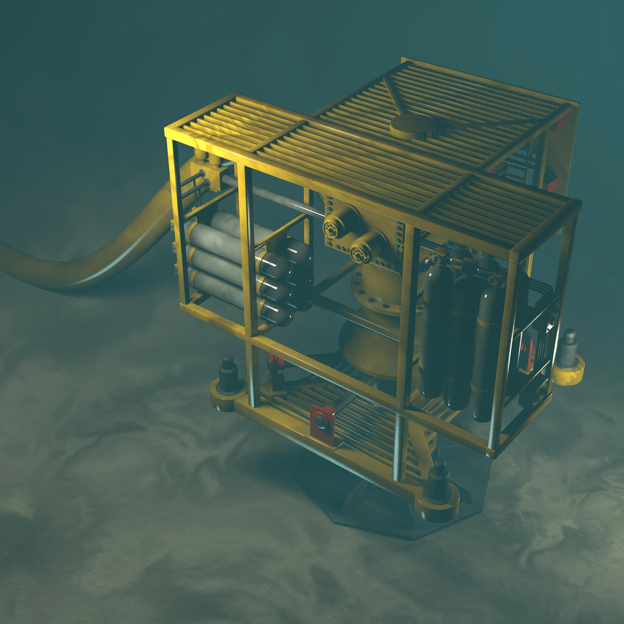 Energy sector technologies - Seabed factory Underwater oil and gas wellhead equipment - BlueThink Technology, Engineering, Industrial, Product, Design and Mechanical Consultants and assisting with Oil energy technology transfer