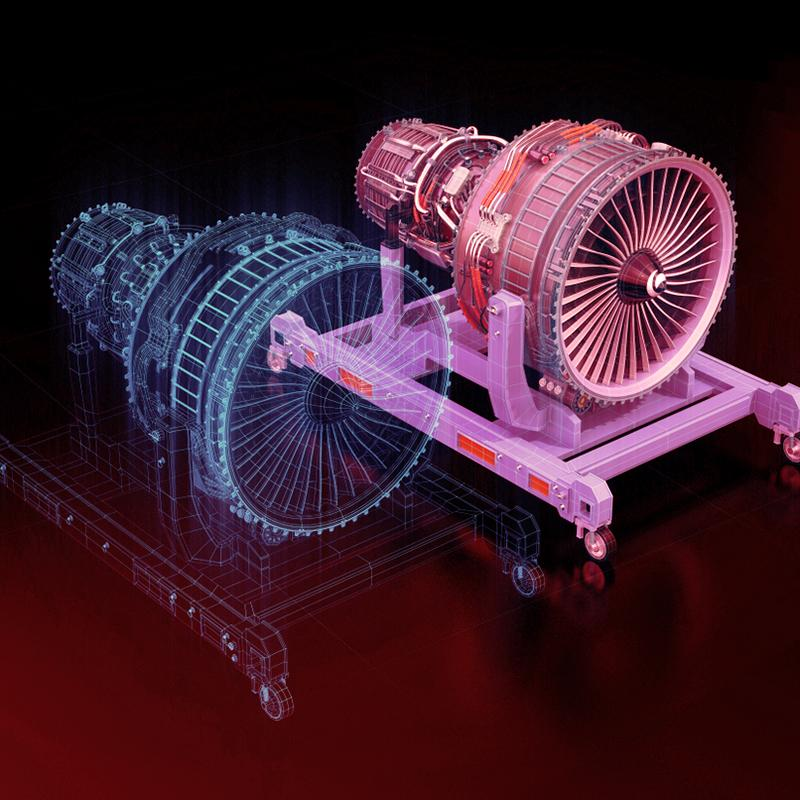 Energy sector technologies. Digital Twins 3D Turbine Images - Bluethink Approach Technology Landscaping- BlueThink Technology, Engineering, Industrial, Product, Design and Mechanical Consultants and assisting with Oil energy technology transfer